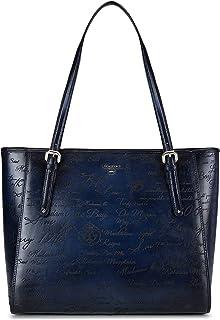 Blue Signato Tote Bag