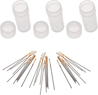 30pcs Golden Color Eye Cross Stitch/ Embroidery Hand Needles - Size 24