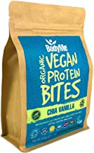 BodyMe Organic Vegan Protein Snacks Bites Raw Chia Vanilla 100 Protein Snack Bites 27 Percent Protein Gluten Free 3 Plant Proteins All Essential Amino Acids High Protein Vegan Snacks Estimated Price : £ 16,99