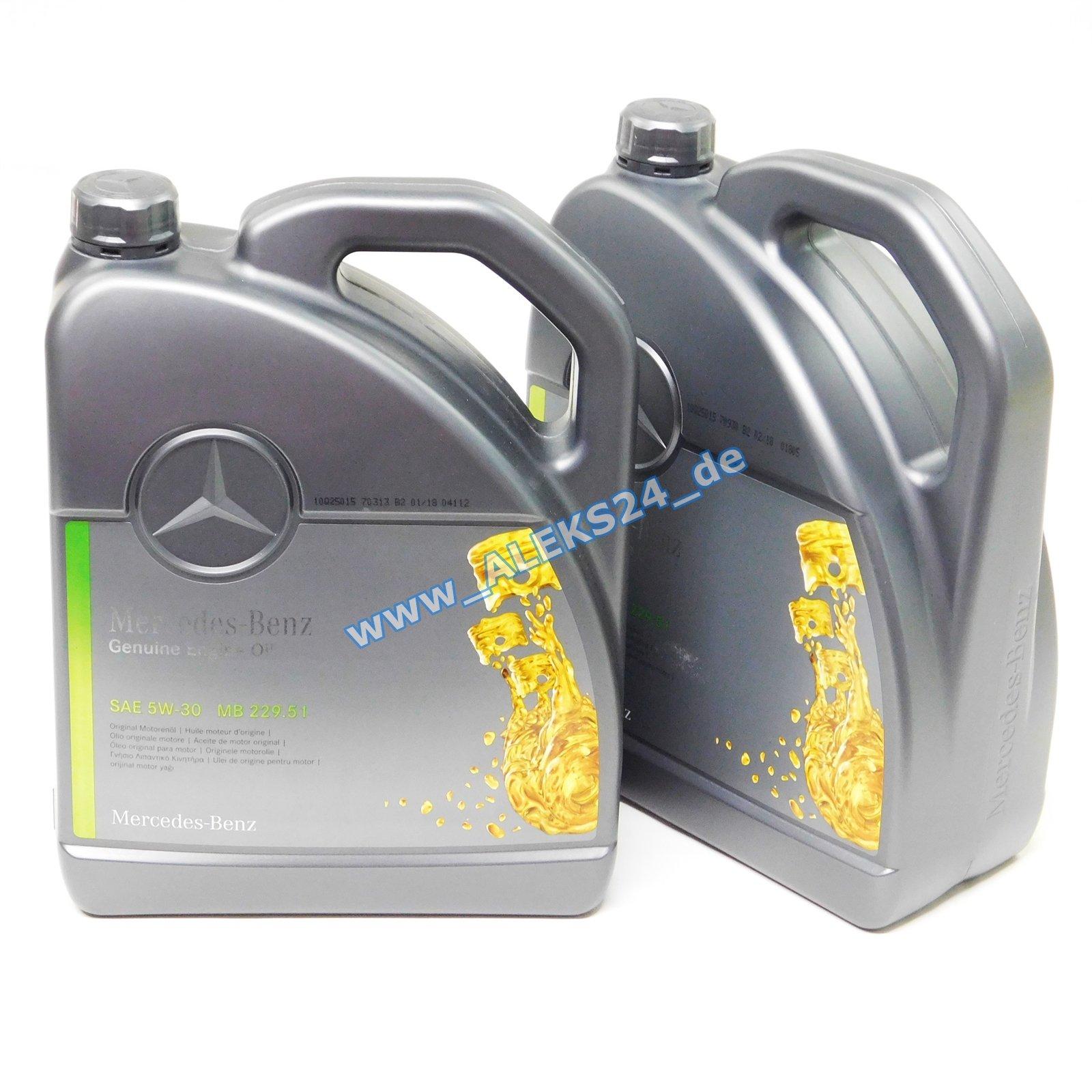 Aceite de motor original de Mercedes-Benz 5W30.: Amazon.es: Coche ...