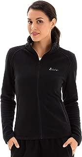 Women's Full Zip Lightweight Polar Fleece Jacket with Pockets Stand Collar