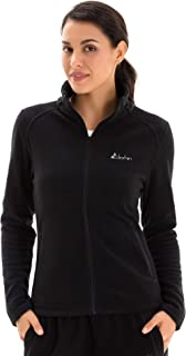 Women's Full Zip Lightweight Polar Fleece Jacket with...