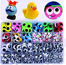 Sponsored Ad - 1860pcs Googly Wiggle Eyes Self-Adhesive, Wobbly Eyes for Craft Stickers Multi Colors and Sizes for DIY Cra...