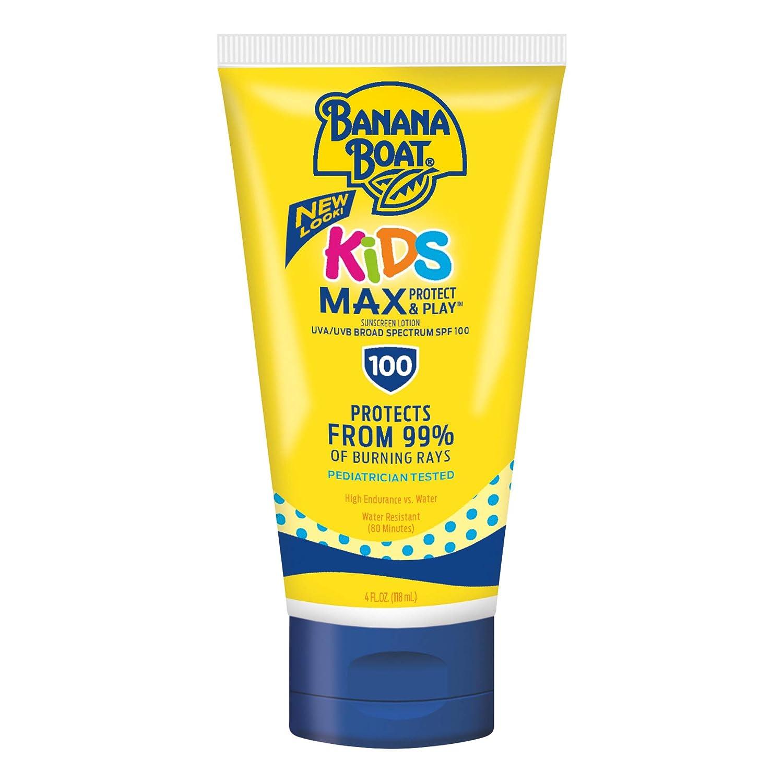 Banana Boat Kids Tear Free Max 69% gift OFF Lotion SPF mL 118 100