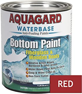 Aquagard Aquagard Waterbased Anti-Fouling Bottom Paint - 1Qt - Red