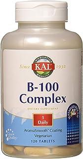 KAL B-100 Complex SR Tablet, 100 mg, 120 Count