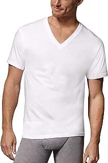 Tall Men's ComfortSoft Fresh IQ White V-Neck - 5 Pack