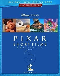 PIXAR SHORT FILMS COLLECTION: VOLUME 3 HOME VIDEO RELEASE
