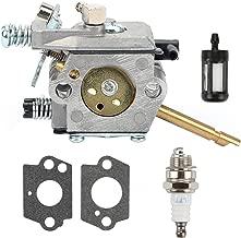 Hilom Carburetor with Gasket Spark Plug Fuel Filter for Stihl FS160 FS220 FS280 FS290 FR220 String Trimmers Weedeater Brushcutter Replace Zama C15-51 C1S-S3D WT-223