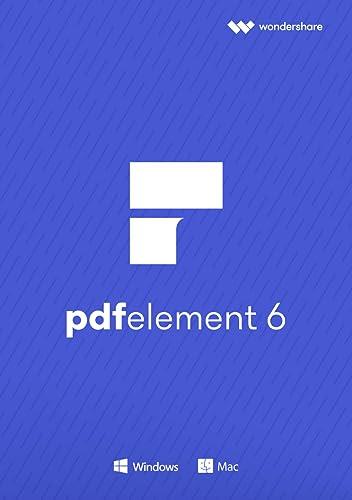 Wondershare PDF Element 6 Standard für PC - 2018 [Download]
