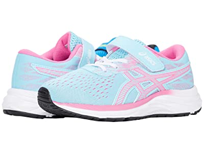 ASICS Kids Pre Excite 7 (Toddler/Little Kid) (Ocean Decay/Dragon Fruit) Girl