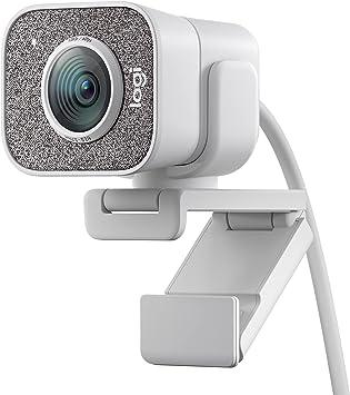 Amazon.nl-Logitech StreamCam, live stream webcam, Full 1080p HD 60fps verticale video, slimme autofocus en belichting, Dual webcam mount, met USB-C, voor YouTube, Gaming TWitch, PC/Mac - Wit-aanbieding
