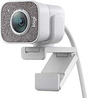 Logitech StreamCam, Full HD 1080p vid 60 fps, stöd för vertikal video i full HD, Autofokus och exponering med ansiktsavläs...