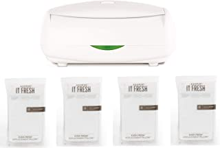 Prince Lionheart The Ultimate Wipes Warmer with an Integrated Nightlight. It Comes with 4 Replacement everFRESH Pillow System That Prevent Dry Out