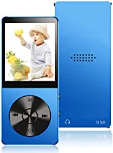 $20 » MP3 Player, 16GB MP3 Players with Hi-Fi Lossless Sound, Portable Music Player with Light Metal, Build-in Speaker, Video Pl...