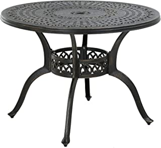 Amazon Com Outdoor Dining Tables Metal Dining Tables Tables Patio Lawn Garden