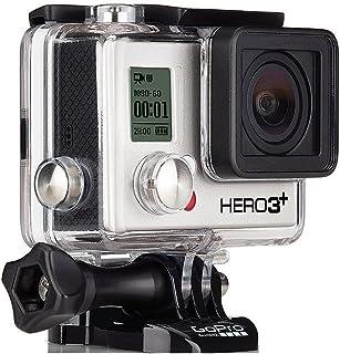 GoPro HERO 3+ Black Edition - Videocámara de 12 Mp (vídeo Full HD, estab. imagen, WiFi), negro (importado)