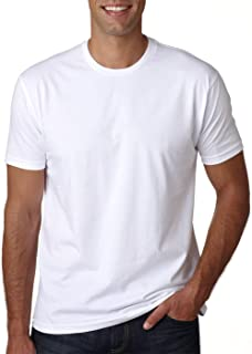 Mens Premium Fitted Short-Sleeve Crew T-Shirt - Heavy Metal + White (2 Pack) - X-Large
