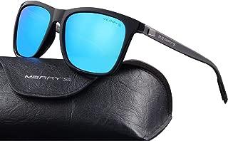 MERRY'S Unisex Polarized Aluminum Sunglasses Vintage Sun...