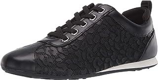 Taryn Rose Women's lace up Sneaker, Black, 5