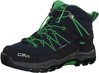 CMP Kids Rigel Mid Trekking Shoe WP, Scarpe da Arrampicata Alta Bambino