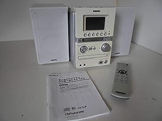 SONY ソニー HCD-M35WM(W)ホワイト マイクロハイファイコンポーネントシステム (USB/CD/MD/カセットコンポ) (本体HCD-M35WMとスピーカーSS-CM35のセット)
