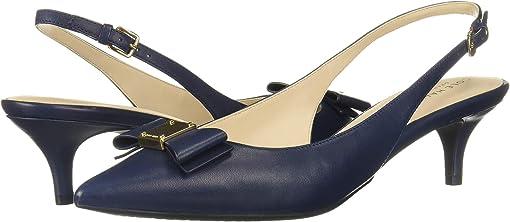 Marine Blue Leather