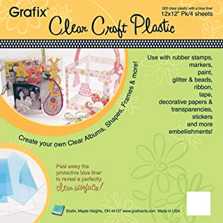 Clear .020 - Craft Plastic Sheets 12