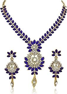 blue indian jewellery