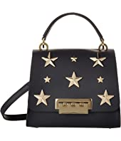 ZAC Zac Posen Eartha Iconic Top-Handle Crossbody with Star Stud