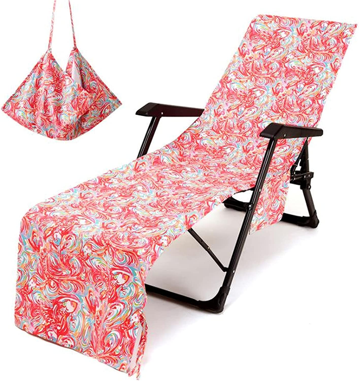 Special price for a limited time Beach Chair Cover Bargain Soft Microfiber Lounge Pat Chaise Towel