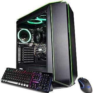 CUK Mantis Custom Gaming PC (AMD Ryzen 3 3200G, 16GB DDR4 RAM, 256GB NVMe SSD, 500W PSU, No OS)...
