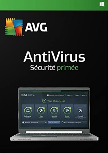 AVG AntiVirus 2017 1 Utilisateur / 12 Mois [Code Jeu ]