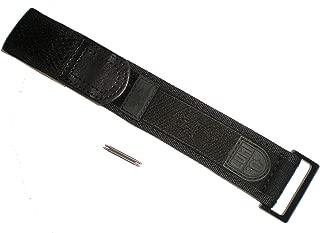 Blackout EVO Wide Band Luminox FN-3950-23-BO-1 Nylon Watch Band Strap Black Out 22/23 mm Series 3000/3900/3050/3080