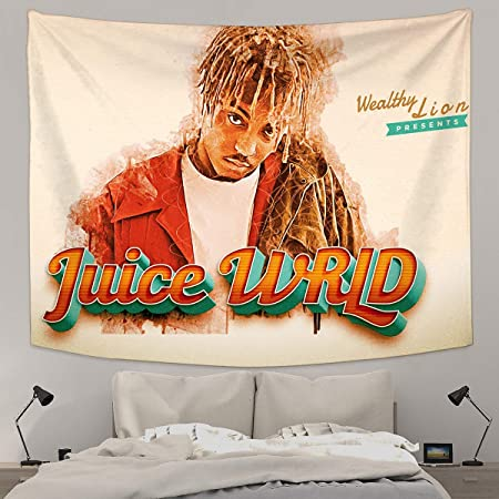 Juice Wrld  Wall Tapestry Cool Man Tapestries Juice Wrld