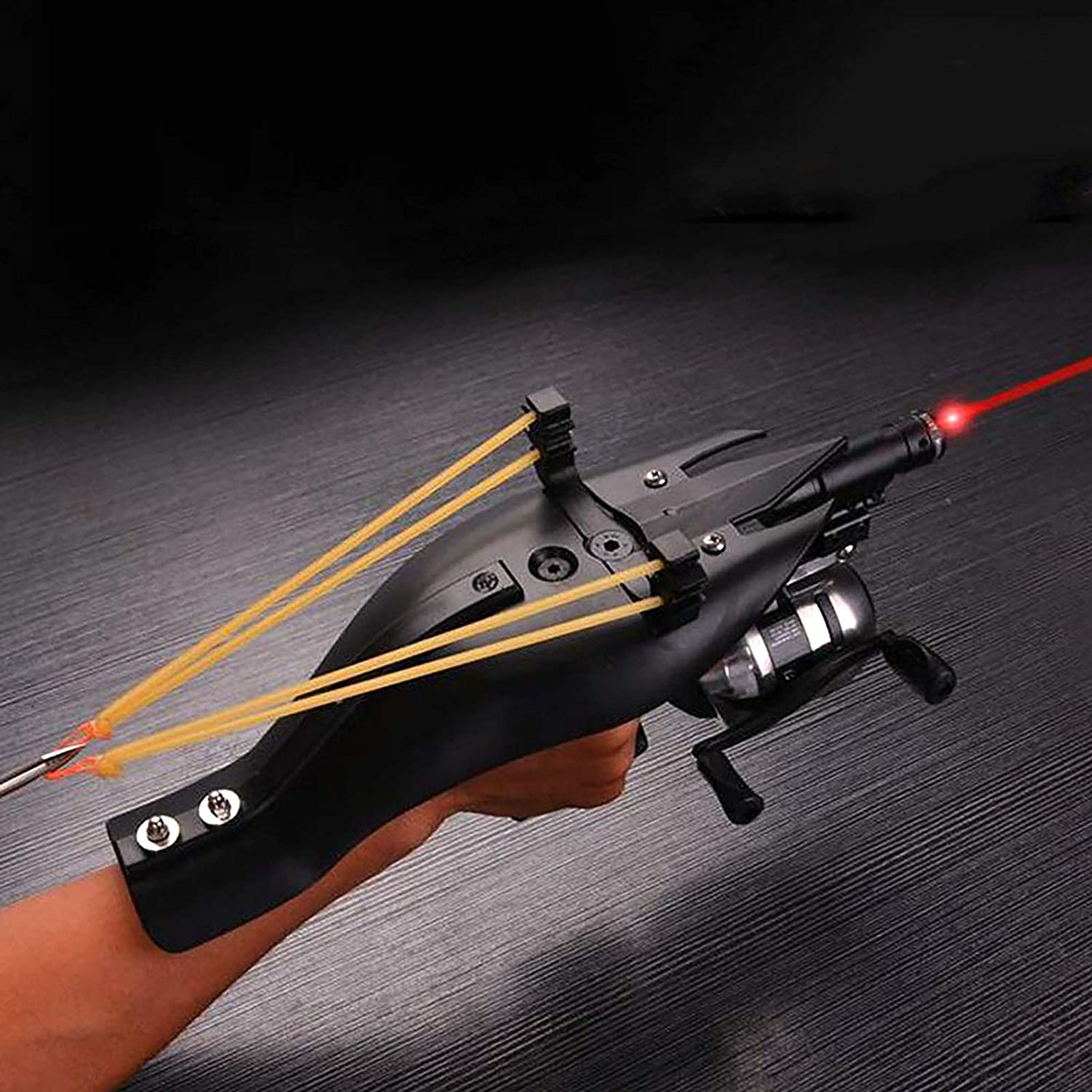 Hunting Fishing Max 67% OFF Slingshot with Solid Handle H Max 82% OFF Professional Metal