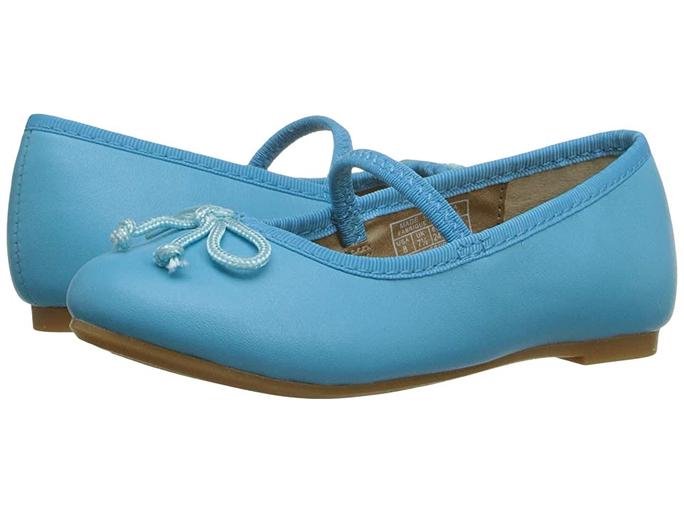 Polo Ralph Lauren Kids Nellie (Toddler) (Turquoise Leather) Girls Shoes