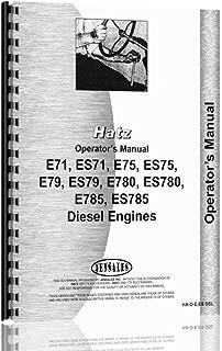 ENGINES Hatz E,ES Diesel Operators Manual