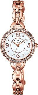 [エンジェルハート] 腕時計 CrystalHoney ホワイト文字盤 ソーラー電池(太陽電池) スワロフスキー CH24PW レディース ピンクゴールド