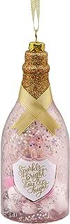 Hallmark Christmas Ornaments, Hallmark Signature Premium Champagne Bottle Glass Ornament