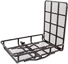 Apex UCC500 Hitch-Mounted Steel Cargo Carrier with Ramp-500lb. Capacity