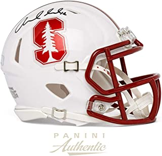 Andrew Luck Autographed Stanford Cardinal Speed Mini Helmet ~Open Edition Item~ - Panini Authentic - Panini Certified