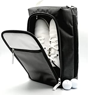 Sponsored Ad - Zippa Golf Shoe Bag I Stylish Golf Shoe Bags with Pockets I Golf shoes Bag for Men and Women, Personalized ...