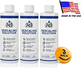 3-Pack Universal Descaling Solution - Descaler for Keurig, Cuisinart, Breville, Kitchenaid, Nespresso, Delonghi, Krups, and all other coffee brewers - by K&J