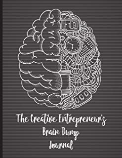 The Creative Entrepreneur's Brain Dump Journal: Declutter your brain and release your best ideas. This brain dump journal will help you get all your thoughts, ideas and things to do on paper.