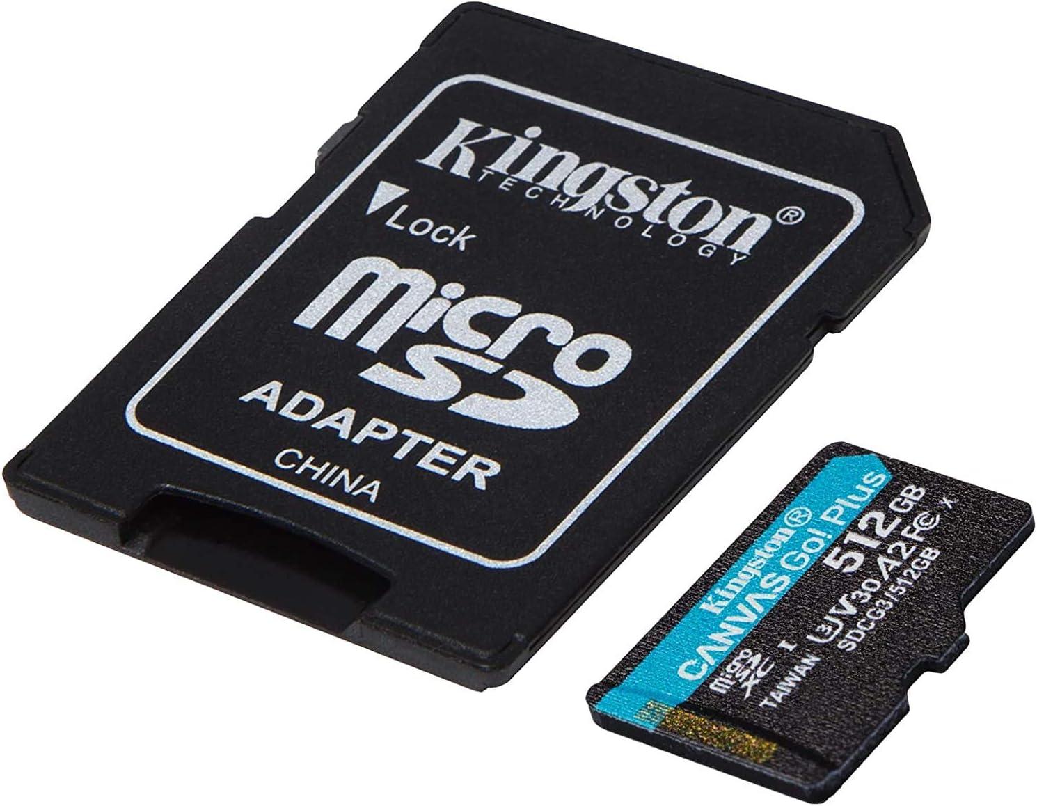 New sales Kingston GO service Plus Works for Micromax Bharat 512GB C MicroSDXC Go