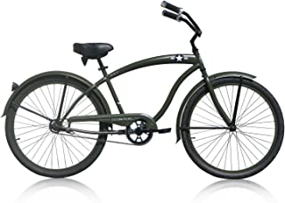 Micargi Bicycle Industries The General Single Speed Ride On, Army Green