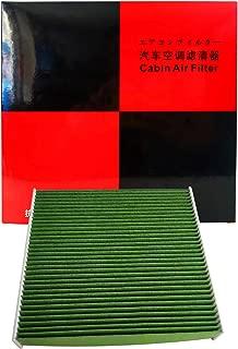 COOTM-3008(DCC3008) 脱臭機能&抗菌機能 特殊3層構造&活性炭入り車用エアコンフィルター ホンダ CR-Z フィット インサイト ヴェゼル グレイス シャトル フリード ステップワゴン 等 交換用 80291-TF0-941