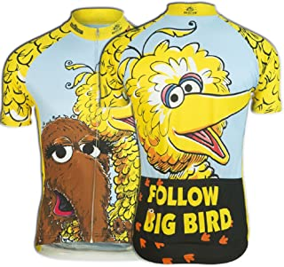 big bird cycling jersey