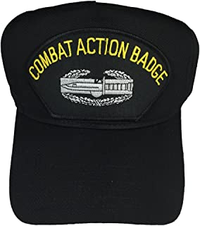U.S. ARMY COMBAT ACTION BADGE W/ CAB HAT - BLACK - Veteran Owned Business